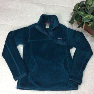 Patagonia Women's Long Sleeve Fleece Pullover Sz S